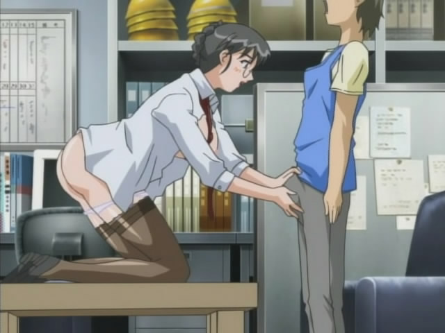 Woman At Work Hentai
