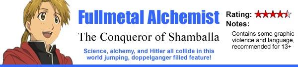 Fullmetal Alchemist: The Conqueror of Shambala