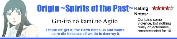 Origin ~Spirits of the Past~